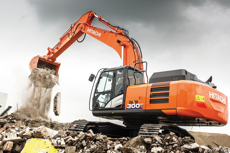 PDQ Hitachi Excavator